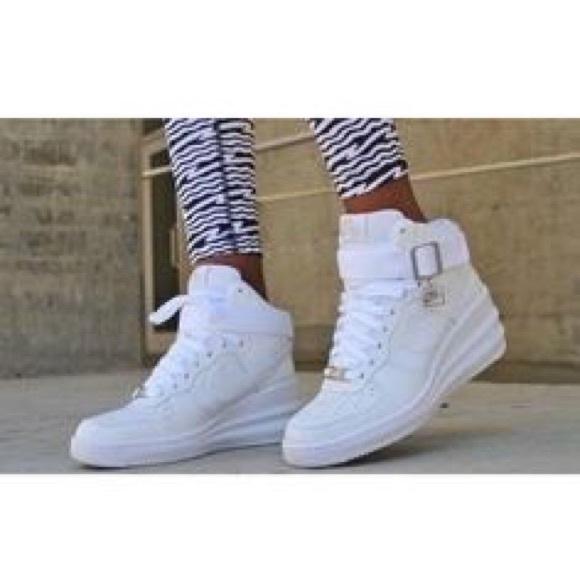 2ecde6b1266c Nike Lunar Force 1 Sky Hi Women s wedges sneakers.  M 5c2d619945c8b3fcf5175aae